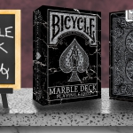 BICYCLE MARBLE DECK Playing Cards by Max. The new generation of the TEXTURE SERIES.
