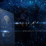 INVASION Playing Cards. Alien tribes conquer our planet