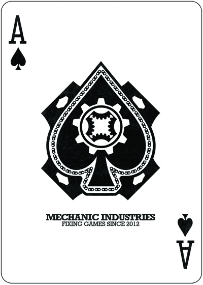 Mechanic deck poker cards by hopc