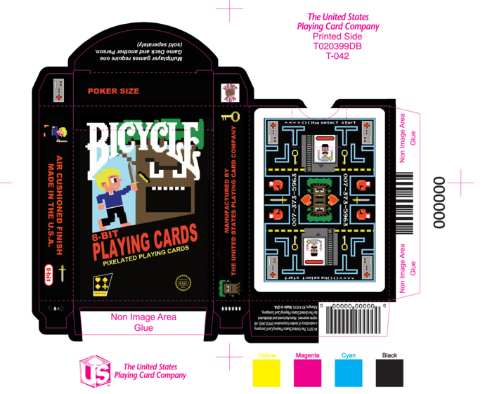 Bicycle8bit_cards08 - Max Playing Cards