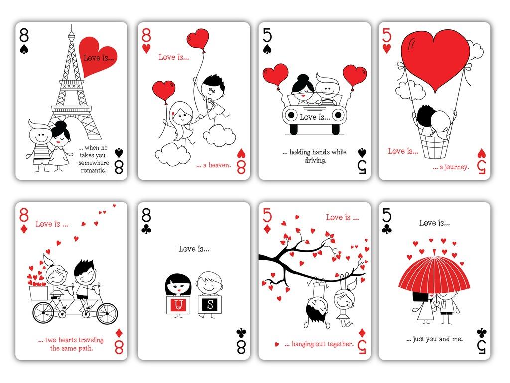 Naipes Love Is El Amor Est 225 En El Naipe Max Playing
