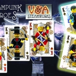 Steampunks Heroes Lego Bicycle Deck. Interview with the artist.