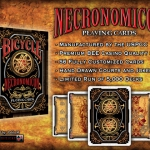 Interview to 4PM Designs and news about their new Bicycle deck: Necronomicon