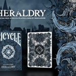Bicycle Heraldry deck. All of us have a past.