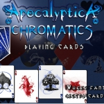 Bicycle Apocalyptica Chromatics deck. Celebrate the end of the world in 2012