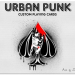 Urban Punk Bicycle Deck. The most Rebel deck in the world. New project