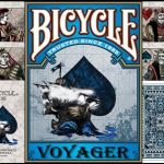 Voyager Bicycle Playing Cards. Inspired by the epic trips sailing the seven seas. PROMOTION for MPC's readers