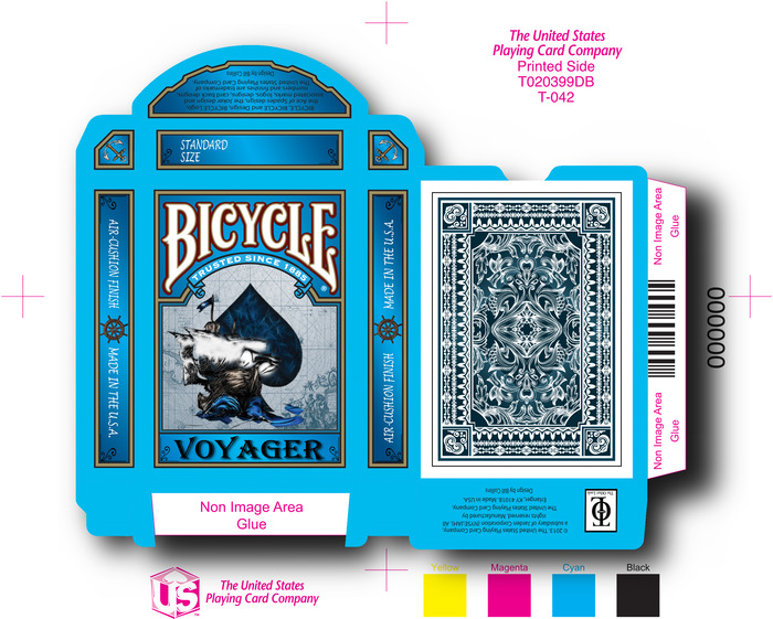 Voyager Bicycle Playing Cards Inspired By The Epic Trips