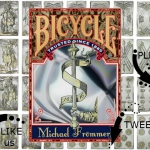 Michael Frömmer's 1616 Silver Bicycle. The half million dollars deck