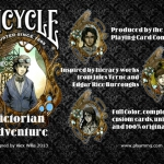 A Victorian Adventure Bicycle deck. An interesting mix of classic novels