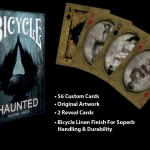 Bicycle Haunted, Emotions and Obivlion by Collectable Cards. A new card company joins our game
