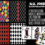All Jokers Playing Cards. The transformation of the transformation deck
