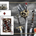 "A War of Kings. A ""fantastic"" deck of cards"