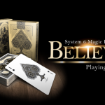 Believe deck. Made by magicians and inspired by artists