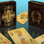 Pharaoh Playing Cards. The mystery of the pyramidal ace