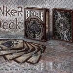Bicycle Tinker deck and Rusty decks. Worn and new at the same time
