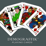 Bicycle Demograffik deck. The multi-cultural playing cards