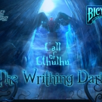 Call of Cthulhu: The Writhing Dark. Three decks, one artist