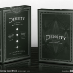Density deck, where geometry and playing cards intersect in an elegant design