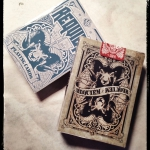 Requiem deck. Negative energy from a broken heart becomes art on playing cards
