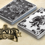 Hipster deck. Independent culture, design and playing cards