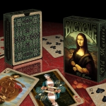 Bicycle Old Masters deck. Digitally Re-painted playing cards with famous classic scenes