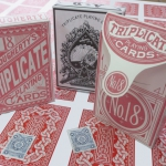 1876, A.Dougherty Triplicate Playing Cards. A master piece of restoration