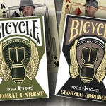 Relaunch of Bicycle Global Unrest deck. Jacks, Queens and Kings, heroes of the WWII