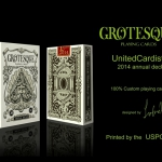 Grotesque Playing Cards. When the ugly becomes beauty. Exclusive Video