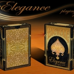 Bicycle Limited Edition Elegance Deck. Golden and metalic shine