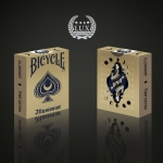 Illusionist Bicycle deck. The art of magic and the art of playing cards