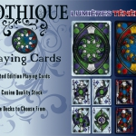 Gothique Playing Cards. Light and Darkness of French Gothic