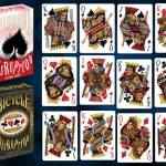Bicycle Disruption Playing Cards. The dancing royalty
