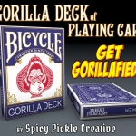 Bicycle Gorilla Deck. Have you seen a simian riding a tricycle?