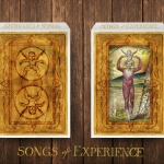 Songs of Experience Playing Cards. Inspired by William Blake's work