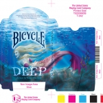 "Bicycle ""Deep"" Playing Cards. The depths of the mythological ocean"
