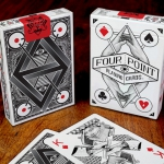 Four Point Playing Cards. Design inspired by Design
