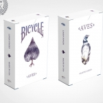 AVES Playing cards. The deck that will sold out flying