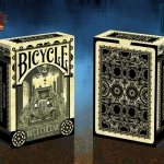 Bicycle Blue Collar Playing Cards. The perfect deck with a beer and a sandwich