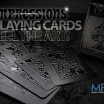 Impressions Playing Cards by Make Playing Cards. The technology that makes you feel the cards when touching them