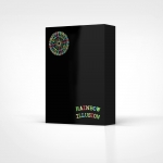 Rainbow Illusion Playing Cards. A color explosion