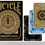 RongoRongo Playing cards. The secret code of the Easter Island