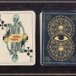 A Deck of Skeletons. More alive than ever in vintage style cards