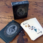 Coat of Arms playing cards review. Hand illustrated with an old and medieval touch