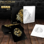 Defunctorum Playing Cards by NOIR Arts. The dead wearing gold and silver