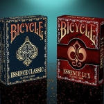 Bicycle Essence Playing Cards. Elegant and ornamental with classical essence