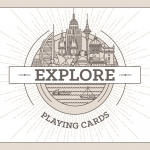 EXPLORE Playing Cards. One more travel around the world