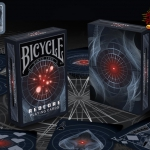 Bicycle Redcore Playing Cards. You will feel hypnotized by the red eye