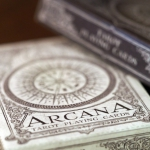 Arcana deck. Hand-illustrated playing cards inspired by Tarot divination cards