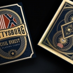 Gettysburg Decks by Tomlinson Playing Card Company. The decisive battle